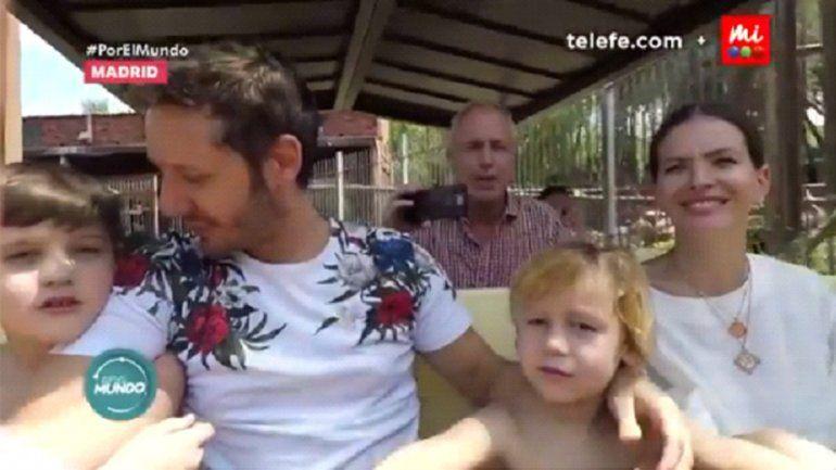Vicuña y la China con Marley: reclamos y mojadita de oreja a Pampita con sus hijos