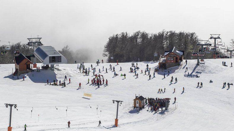 Chapelco tuvo la visita de más de diez mil esquiadores