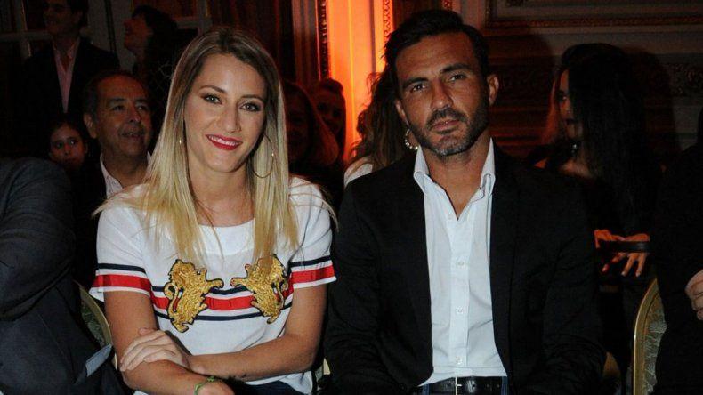 Cubero y Viciconte se mostraron en más de una oportunidad con las hijas del futbolista
