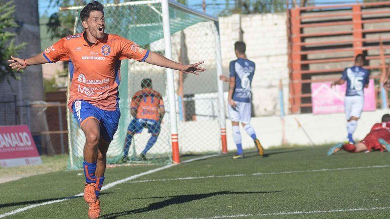 Trecco marcó 9 goles en el último Federal A. Piñero da Silva