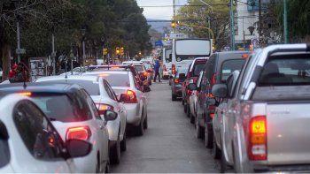 Cortan el tránsito en Mitre hasta las 18 para terminar el asfalto