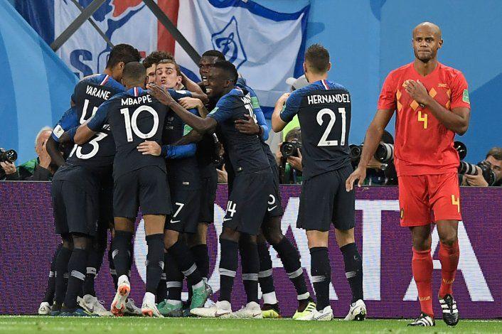 De cabeza a la final del Mundial