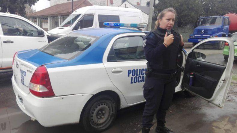 La adolescente fue llevada a una dependencia policial y asistida por psicólogos.