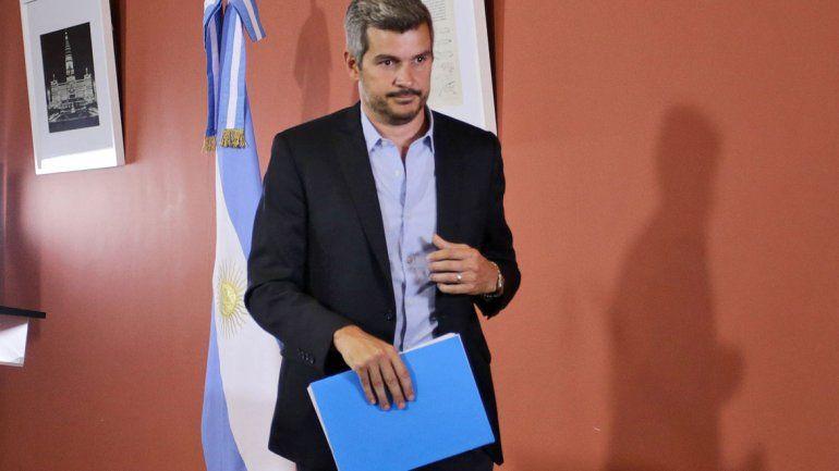 El jefe de Gabinete habló en nombre del presidente Mauricio Macri.