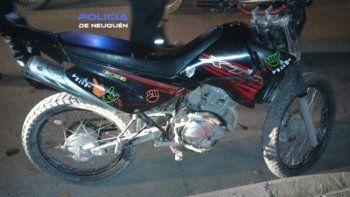 recupero su moto robada gracias a una falsa compra