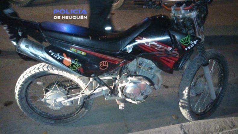 Recuperó su moto robada a través de una falsa compra en Facebook