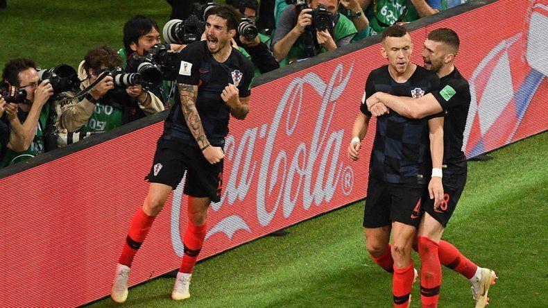 Croacia ganó en el alargue ante Inglaterra y es finalista del Mundial