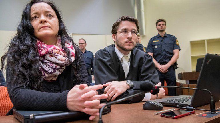 La neonazi lleva siete años en prisión preventiva. Ahora no saldrá más.
