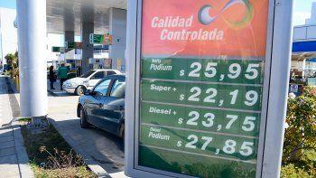 Combustibles: hay diferencias de hasta dos pesos en el gasoil