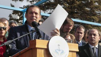 Gutiérrez quiere otra licitación para el financiamiento de Chihuido