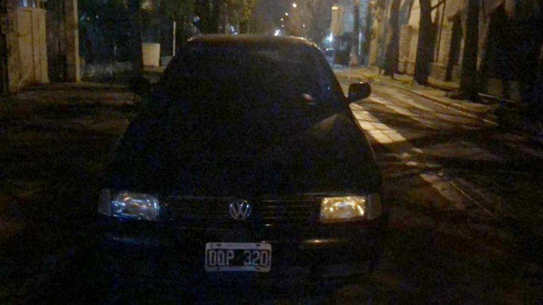 Encontraron abandonado el auto del Pity Álvarez