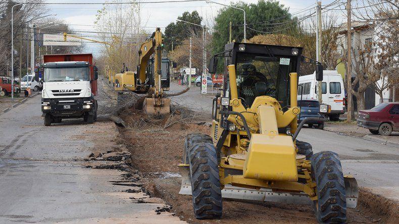 Mañana se cortará el tránsito en Avenida del Trabajador y Rufino Ortega por obras del Metrobús