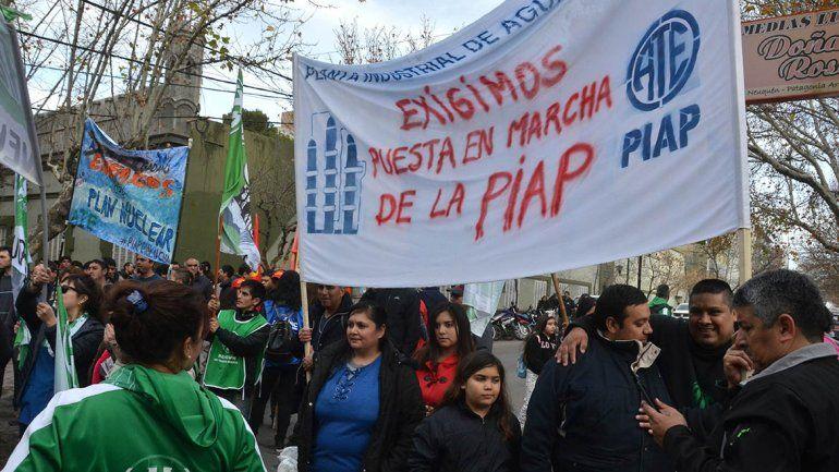 Los trabajadores de la PIAP volverán a protestar en la Ruta 22