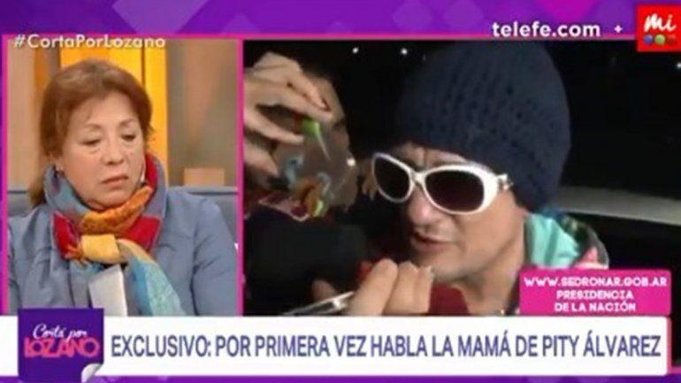 Habló la madre de Pity Álvarez: Intenté ayudarlo varias veces