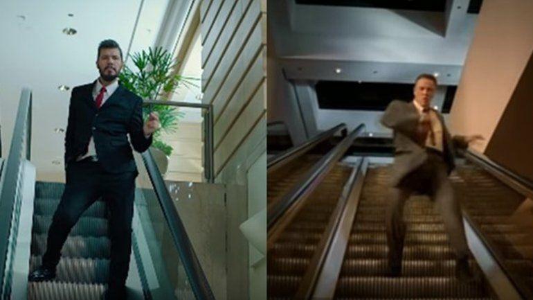 Mirá el clip que imitó Marcelo Tinelli para el primer adelanto del Bailando
