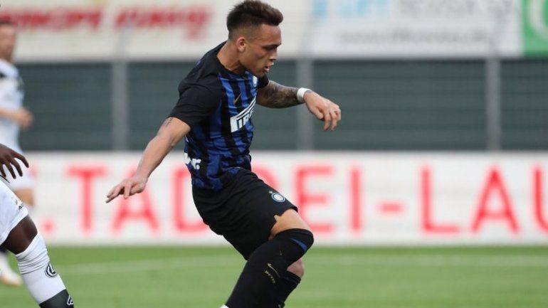 El primer gol de Lautaro Martínez en Inter