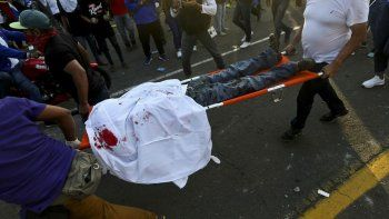 dos estudiantes muertos en iglesia nicaragüense