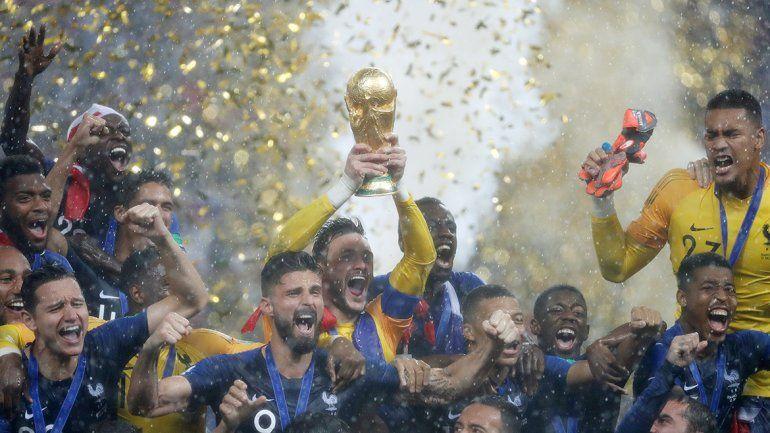 Francia se coronó campeón y sumó su segunda estrella