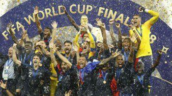 asi fue la coronacion de francia en el mundial
