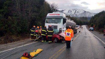Mueren padre e hija en un accidente en la Ruta 40