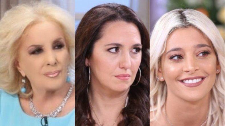 Tenso cruce entre Narda Lepes, Sol Pérez y Mirtha por el aborto legal