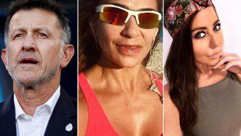 escandalo mundial: el dt de mexico llevo a su esposa y amante a rusia