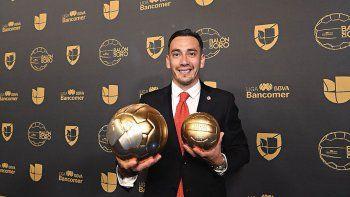 rubens sambueza: no me esperaba el balon de oro