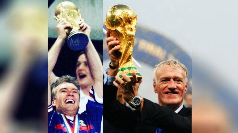 Deschamps igualó  el récord de Zagallo y Beckenbauer