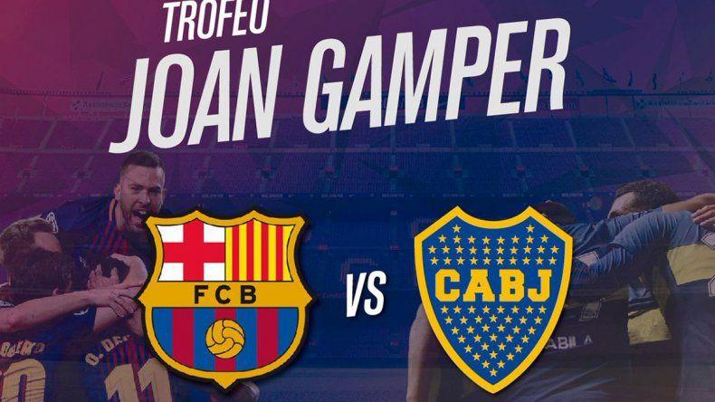 Boca y Barcelona, un amistoso de alto nivel