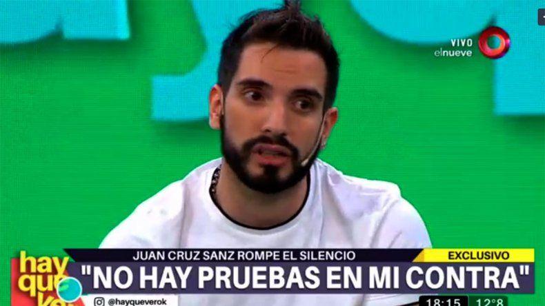 Reapareció Juan Cruz Sanz en la televisión: Pensé en suicidarme