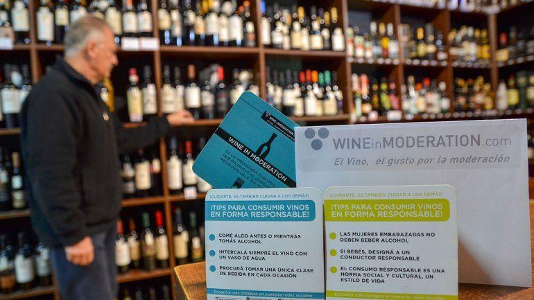 Una vinería se sumó a la campaña municipal