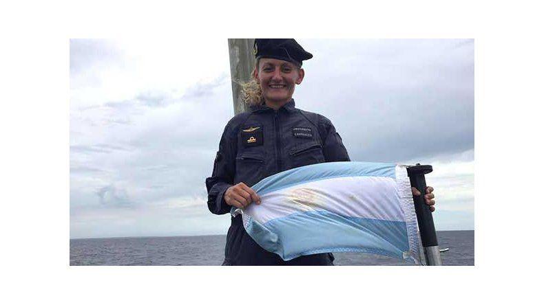 Y se hizo a la mar, la canción  dedicada a la tripulante del ARA San Juan