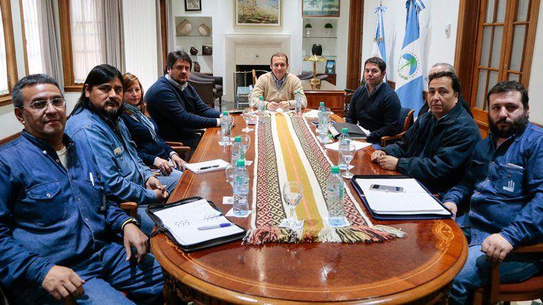 Gutiérrez le garantizó el pago de los sueldos a los trabajadores de la PIAP