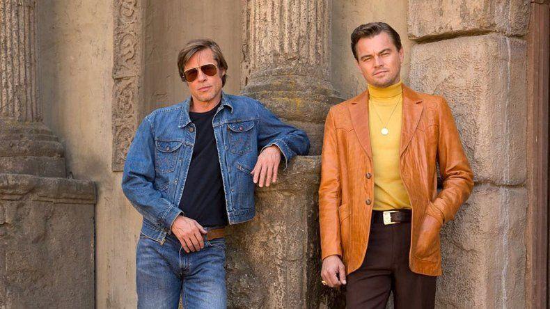 Los galanes finalmente estarán juntos en el film de Tarantino.