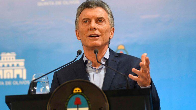 Macri confirmó el adelanto de fondos del FMIpara garantizar el financiamiento de 2019