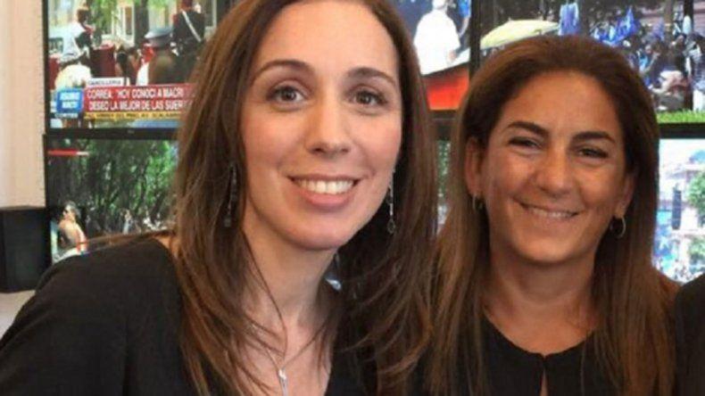 La gobernadora bonaerense despidió a Fernanda Inza.