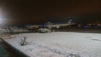 hubo demoras en vuelos y micros por el mal tiempo