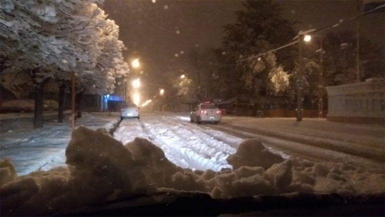 Así están las rutas de Neuquén por el temporal de lluvia y nieve