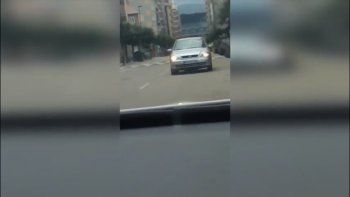 conductor drogado manejo tres kilometros marcha atras