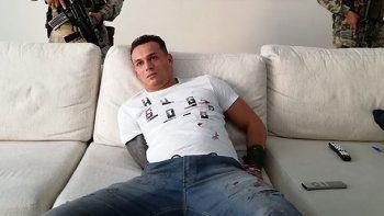 Aparecido de Almeida fue atrapado en una casa lujosa de la capital.