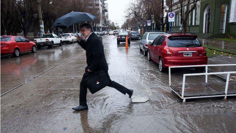 Lluvia histórica: cayó agua como nunca en julio