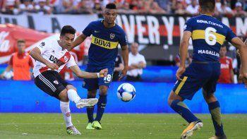 Boca y River se verán las caras en La Bombonera. En el último superclásico, Boca triunfó 2 a 1 en el Monumental.