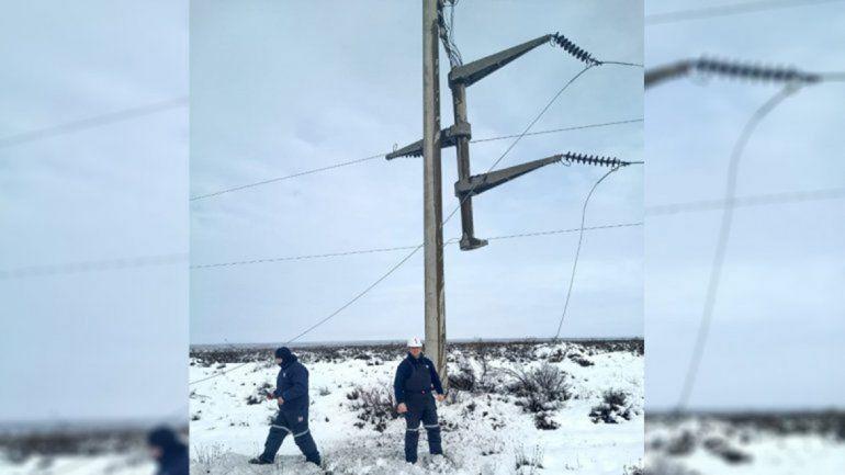 Siguen sin luz localidades del centro oeste de la provincia
