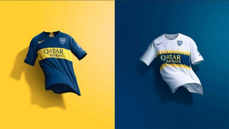Boca presentó sus nuevas camisetas para la próxima temporada