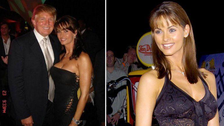 Graban a Trump discutiendo el pago a una ex modelo de Playboy