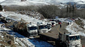 recorre con lmn un tramo de la nevada ruta 40