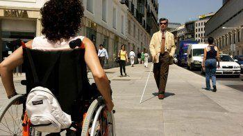 el 10% de los argentinos tiene algun tipo de discapacidad