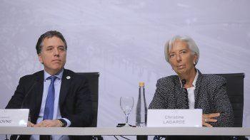 el fmi respaldo al gobierno, pero advirtio cumplir metas