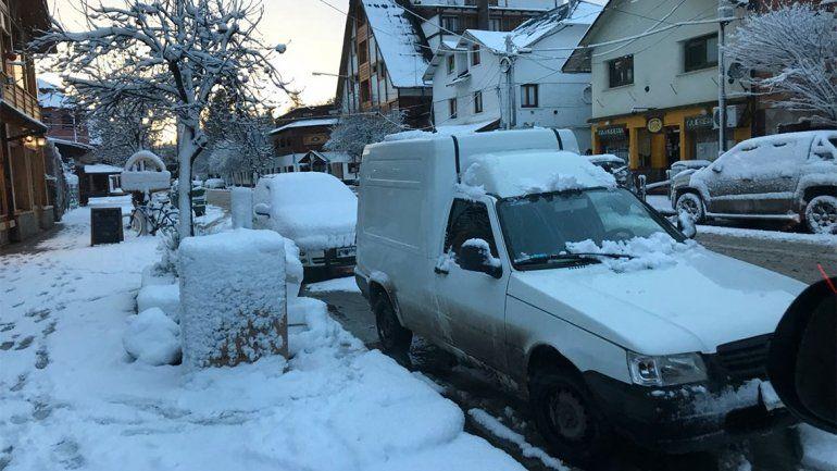 Así amanecieron las ciudades del interior por las intensas nevadas