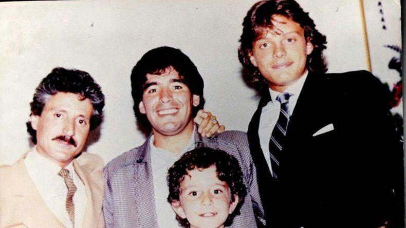 Viveza criolla: hasta Maradona se aprovechó de Luis Miguel